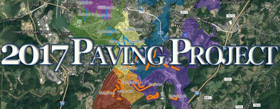 Paving Map Text