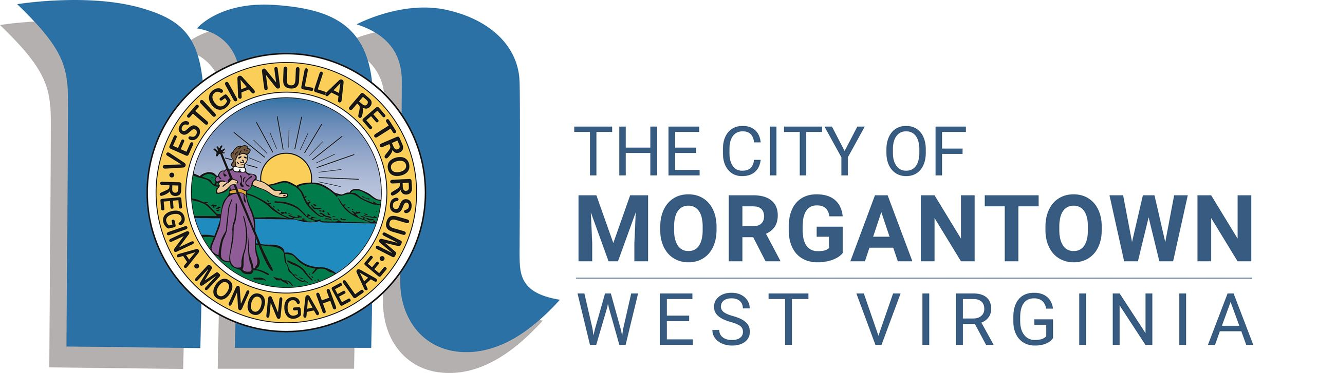 MORGANTOWN signature logo vector image