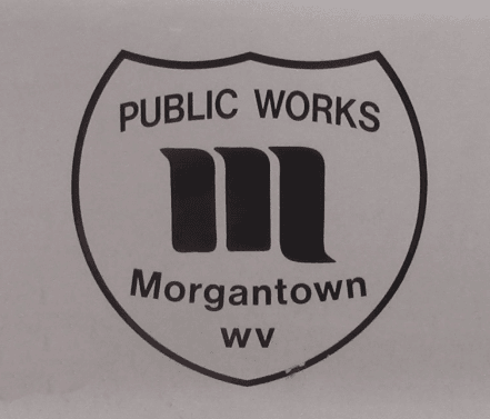 A picture of the Morgantown Public Works logo.