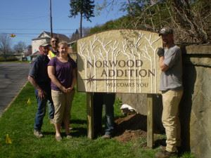 Norwood Addition Sign