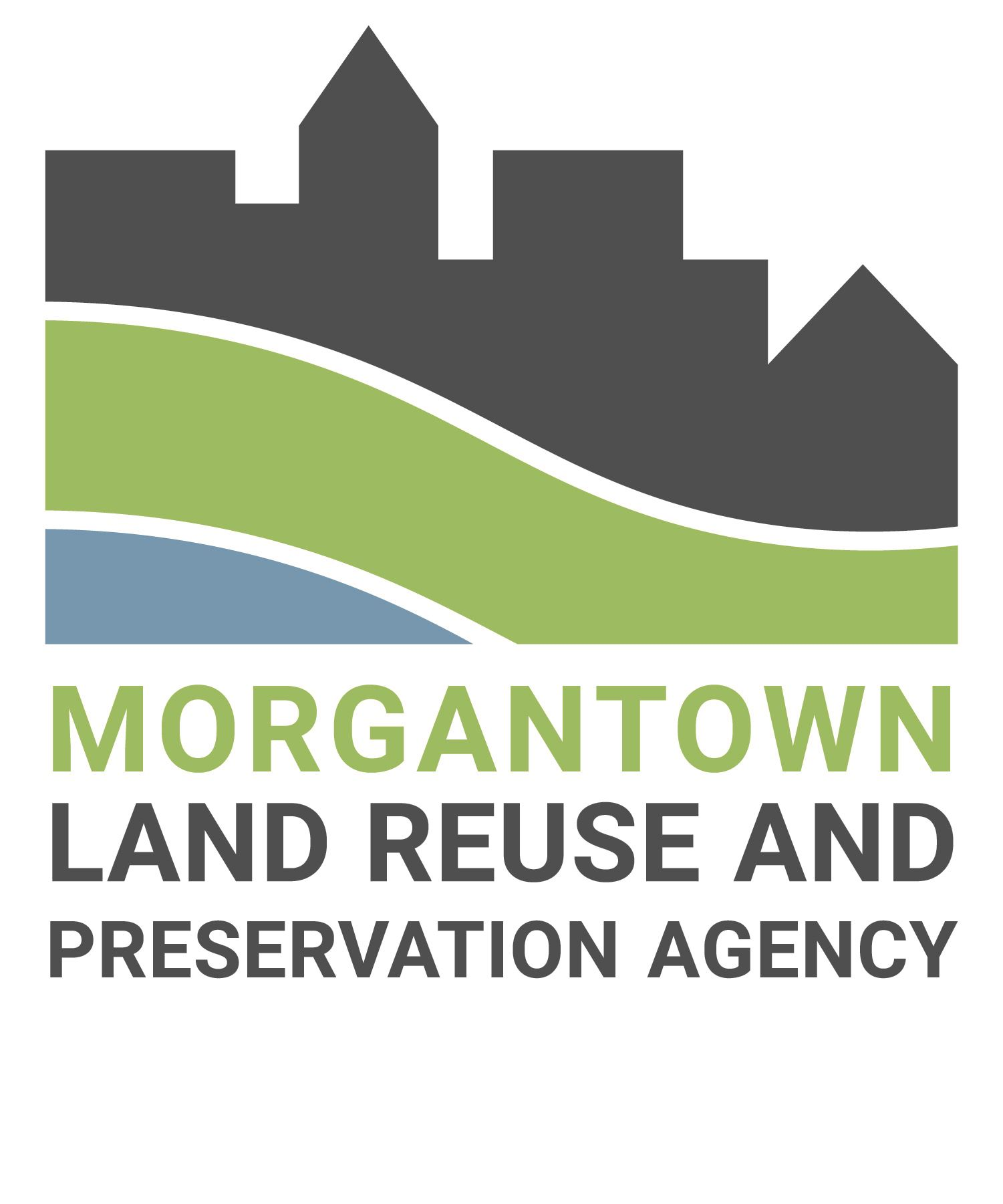 The logo of the Morgantown Land Reuse and Preservation Agency.